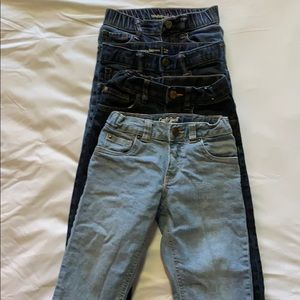 Lot of toddler size 4 jeans